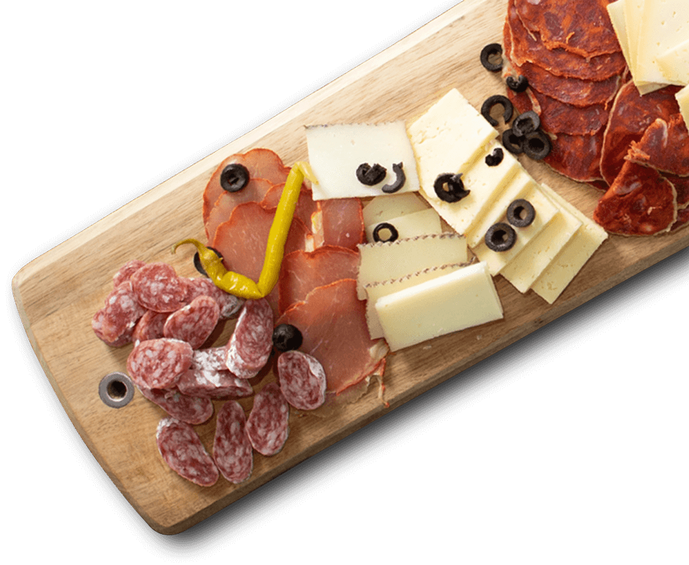 Planche fromage charcuterie du Chiringuito